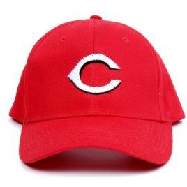 MLB Cincinnati Reds LED Light-Up Logo Adjustable Hat
