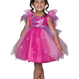 Rubie's Costume Barbie Light-Up Fairy Dress Child Costume