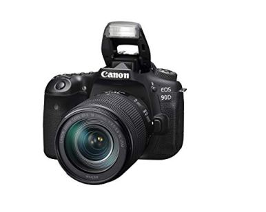 Canon-DSLR-Camera-EOS-90D-with-18-135-is-USM-Lens-Built-in-Wi-Fi-Bluetooth-DIGIC-8-Image-Processor-4K-Video-Dual-Pixel-CMOS-AF-and-30-Inch-Vari-Angle-Touch-LCD-Screen-Black