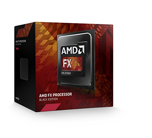 AMD FX 4350 Unlocked Quad Core Processor 4.2 4 FD4350FRHKBOX, Black Edition