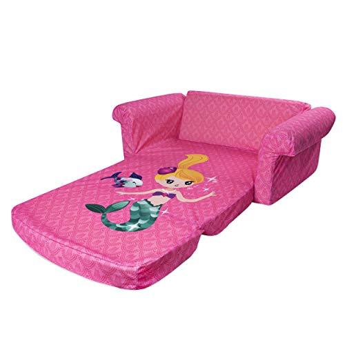 Marshmallow Furniture Children S 2 In 1 Mermaid Flip Open Foam