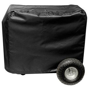 All Weather Protected Durable Black Eletric Generator Cover