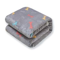 furrybaby-Upgrade-Double-Layer-Thick-Premium-Flannel-Fleece-Dog-Throw-Blanket-Soft-and-Warm-Bone-Prints-Blanket-for-Puppy-Cat-Small-24x32