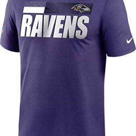 Nike Men's Baltimore Ravens Legend Performance Purple Dri-Fit T-Shirt