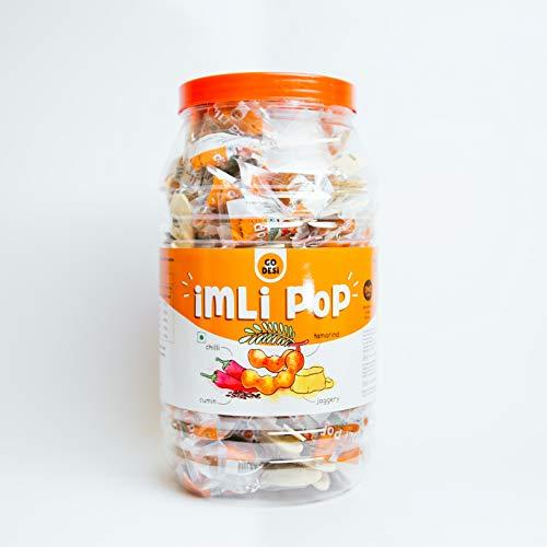 41gbWtLFDZL - GO DESi Imli Pop Tamarind & Jaggery Candy (100 Piece), 900 g