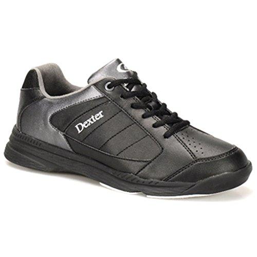 Dexter Men's Ricky IV Wide Bowling Shoes, Black/Alloy, Size 9.5