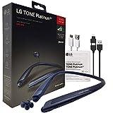 LG Tone Platinum Alpha HBS930 HD Bluetooth Headset - Harman Kardon with 2in1 USB Lighting & Micro (Retail Packing Kit)