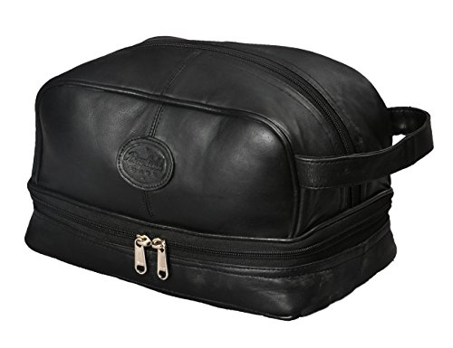 c0eb8103181d Mens Toiletry Bag Shaving Dopp Case for Travel by Bayfield Bags ...