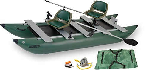 Sea Eagle 375fc FoldCat Inflatable Fishing Boat - Deluxe Package