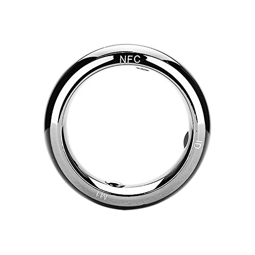 vapeonly R3 NFC Magic Smart Ring Waterproof Electronics Mobile Phone Accessories Universal Compatible with Android iOS SmartRing Smart Watch (11#)