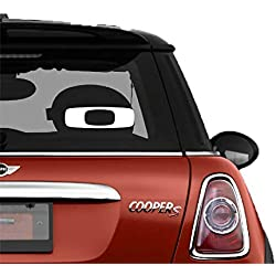 Oakley Square O White SK8/Surf/Snow/Water/Bike/Brands Automotive Decal/Bumper Sticker