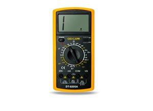 DELE Digital Multimeter Manual DT9205A With Pen Tester