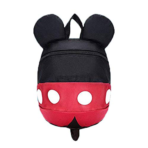 BUB Anti-Lost Backpack with Cute Design Toddler Leash for Toddlers Age 1-5 Years Old Boys and Girls (Small)