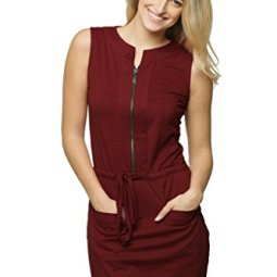 Miss Chase Women's Mini Shift Dress with Pockets