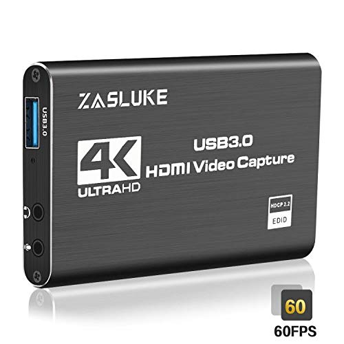 ZasLuke-4K-HDMI-Game-Capture-CardUSB-30-HDMI-Video-Capture-Device-with-HDMI-Loop-Out-1080P-60FPS-Live-Streaming-Game-Recorder-Device-for-Windows-Linux-OS-X-SystemPS4Nintendo-Switch-and-More
