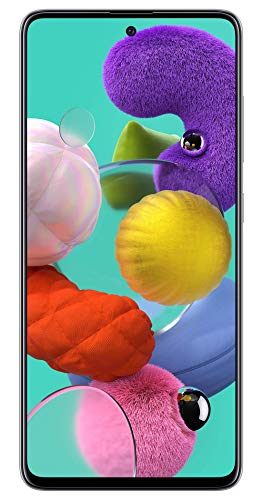 Samsung Galaxy A51 (White, 8GB RAM, 128GB Storage) with No Cost EMI/Additional Exchange Offers 1