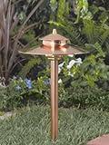 Vista Pro Path and Spread Landscape Lighting PR 2126 Natural Copper
