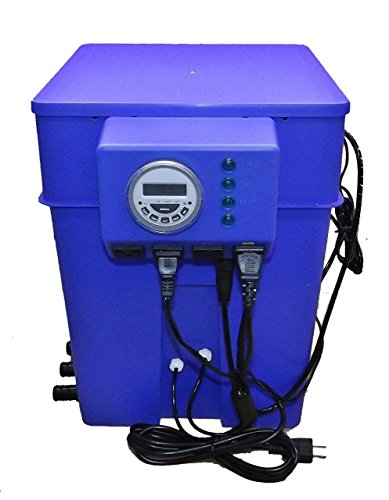 Multi Flow Hydroponics System Gravity Ebb and Flow Bucket Controller Brain Unit