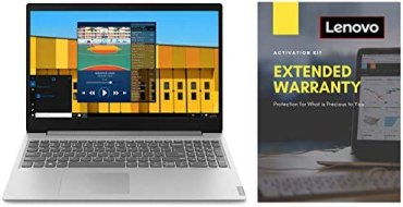 Lenovo Ideapad S145 AMD Ryzen 5 15.6″ FHD Laptop (4GB/1TB HDD/Win10/MSO/Grey/1.85Kg) 81UT00J7IN + Lenovo 2 Year Extended Warranty with Onsite Service