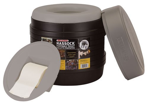 Reliance Products Hassock Portable Lightweight Self-Contained