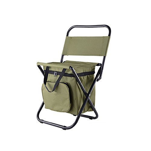 Nadalan Outdoor Folding Chairs Fishing Backpack Chair
