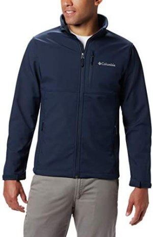Columbia mens Ascender Softshell Front-zip Jacket