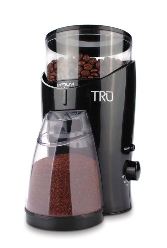 TRU Burr Grinder, Holds 1/2-Pound Coffee Beans