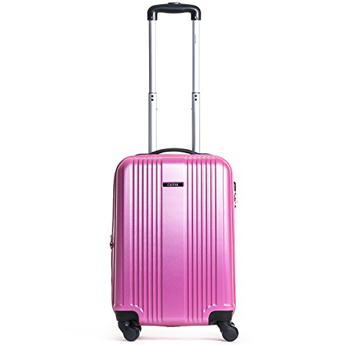 CALPAK Torrino II 20 Inch Expandable Carry-On, Pink