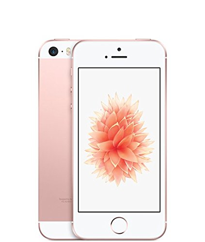 Apple iPhone SE 64GB Unlocked GSM LTE Smartphone - Rose Gold (Certified Refurbished)
