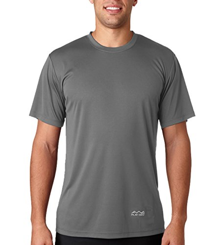 AWG - All Weather Gear Men's Polyester Dry Fit Round Neck T-Shirt - Pack of 4 5