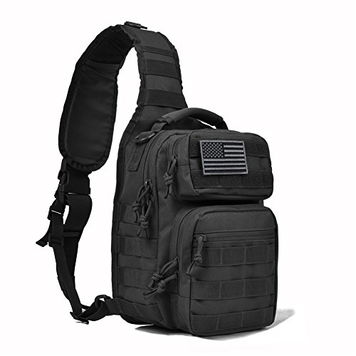 REEBOW GEAR Tactical Sling Bag Pack...