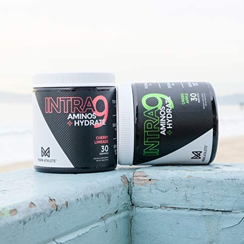 MDRN Athlete Intra9 | All 9 Essential Amino Acids EAA | 7 Grams | 2:1:1 Branched Chain Amino Acids BCAA | Keto | Recovery and Enhanced Hydration | Cherry Limeade (30 Servings) 9