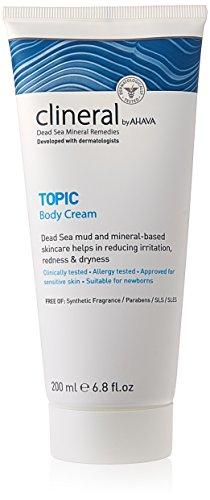 41hQ1cP A0L CLINERAL by Ahava Topic Body Cream 200 ml 200 Milliliters