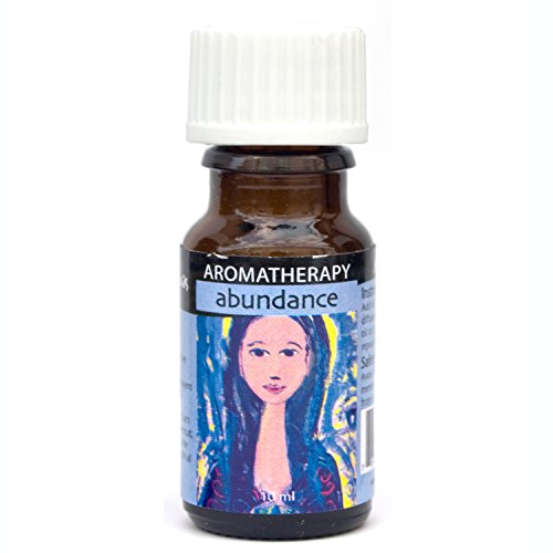 Essential Oil Blend for Abundance Affirmations - Reduce Worry, Build Confidence & Uplifting Aromatherapy Oils for Prosperity Consciousness - 100% Pure & Natural Therapeutic Grade Aromatherapy - 10ml