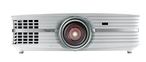 Optoma UHD60 True 4K Ultra High Definition, 3, 000 Lumens, Home Cinema Projector for Entertainment and Movies with HDMI 2.0 and HDR