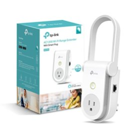 Kasa-AC1200-Wi-Fi-Range-Extender-Smart-Plug-by-TP-Link-Fast-AC1200-Wi-Fi-ExtenderRepeater-with-Built-In-Smart-Plug-No-Hub-Required-Works-With-Alexa-and-Google-Assistant-RE370K