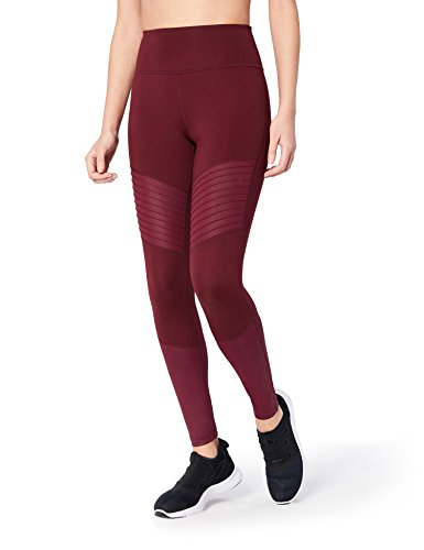81nqQe5NPoL High-waisted legging made with 4-way stretch, moisture-wicking fabric featuring pintuck detailing above the knee, and shine fabric around calf Reference our size chart to achieve the best fit Drop-in pocket at center back waistband fits a smartphone