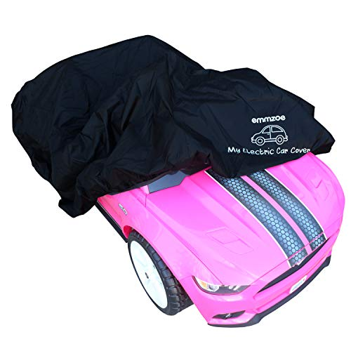 Emmzoe Ride-On Car Cover for Kids Electric Vehicle - Universal Fit, Water Resistant, UV Rain Snow Protection