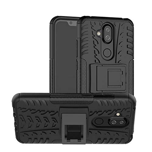 Prime Retail Nokia 8.1 Back Cover Kickstand View Armor Case 197