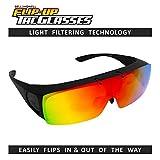 Bell + Howell TAC FLIP UP Polarized Sun Glasses As Seen On TV