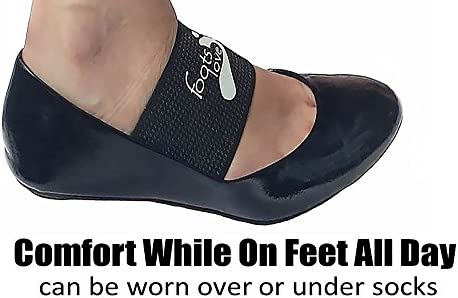 Foots Love Plantar Fasciitis Arch Support Braces-Sleeve Inserts. Compression Lifts & Highest Copper Content Relaxes Nerves. Arch and Heel Foot Care Fast Pain Relief 6
