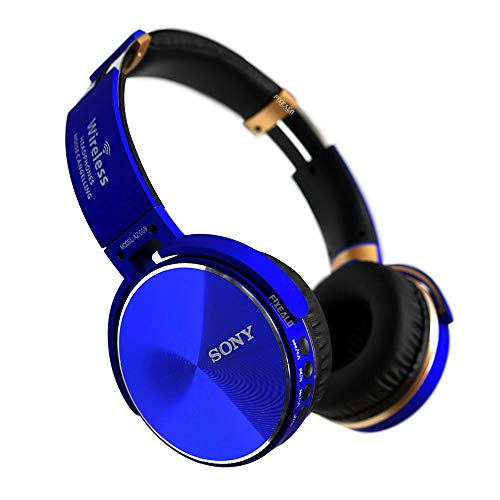 Fixealo Audifonos Sony AZ 008 Extra Bass Inalambricos Bluetooth (Azul)