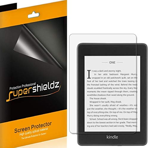Supershieldz [3-Pack] for Kindle Paperwhite (10th Generation - 2018 Release) Screen Protector, Anti-Glare & Anti-Fingerprint (Matte) Shield + Lifetime Replacement