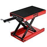 OrionMotorTech Dilated Scissor Lift Jack for Street Bike, Cruiser, Adventure Touring Motorcycle