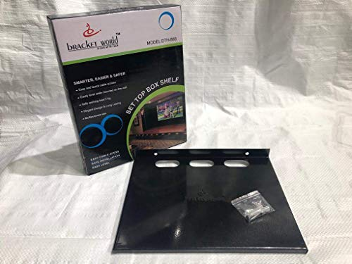 Bracket world Set-top Box and DTH Stand 4