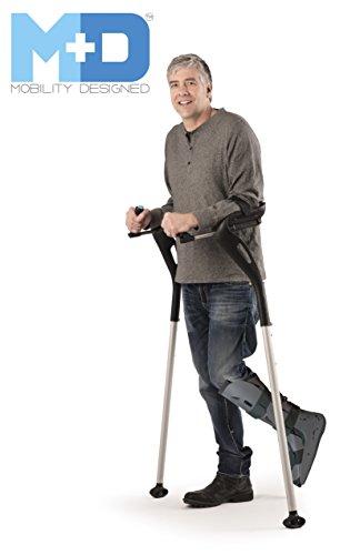 Mobility Designed Hands-free Ergonomic Crutches - (1 Pair)