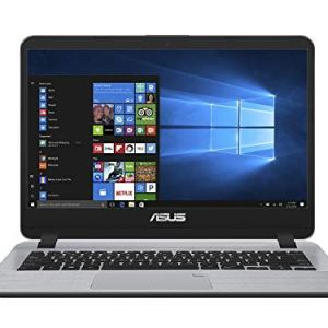 ASUS VivoBooK Intel Core i3 7th Gen 14-inch Thin and Light Laptop (4GB/1TB HDD/Windows 10/Stary Gray/1.55 Kg), X407UA-BV345T