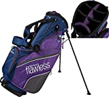 2019 Top-Flite Womens Flawless Golf Stand Bag 7-Way Top 7 Pockets Beverage Cooling Pocket (Navy/Purple)