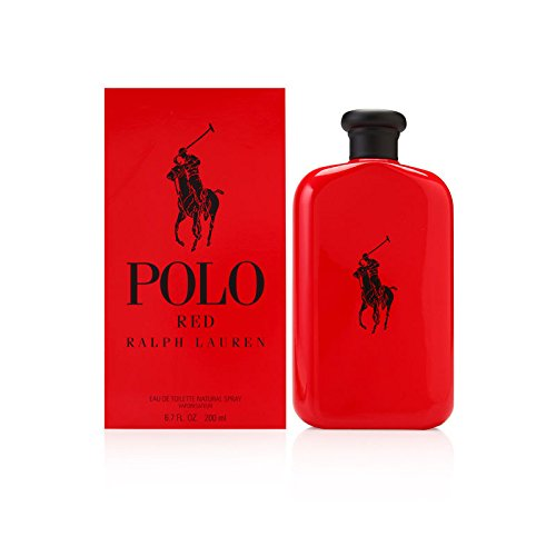 Polo Red by Ralph Lauren for Men 6.7 oz Eau de Toilette Spray
