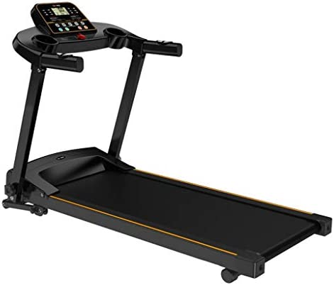 JEI-MEN Folding Treadmill Foldable Electric Running Machine High Power 2.0HP with LCD Display Screen for Indoor Sport 1